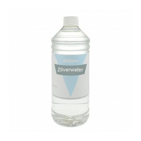 Colloidaal Zilver Water 40 PPM 1 liter