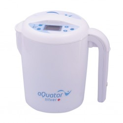 aQuator Classic Silver Water Ionizer Machine